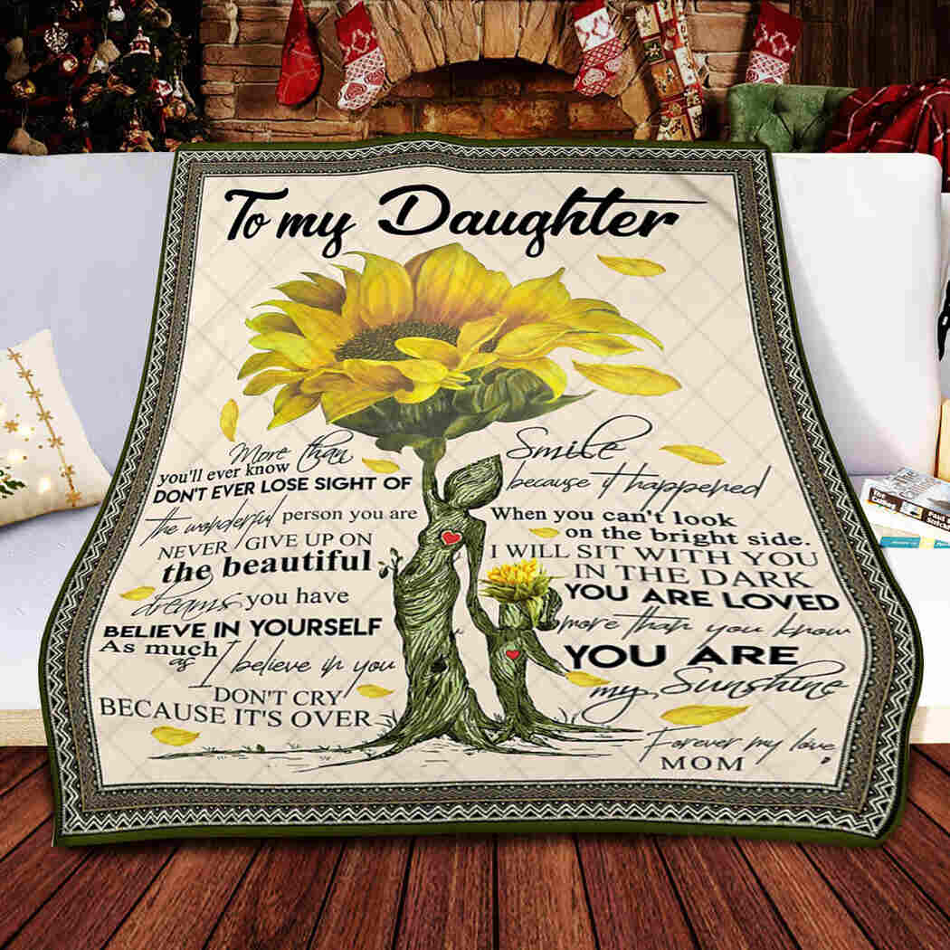 Mother Daughter Blanket - You Are My Sunshine Quilt