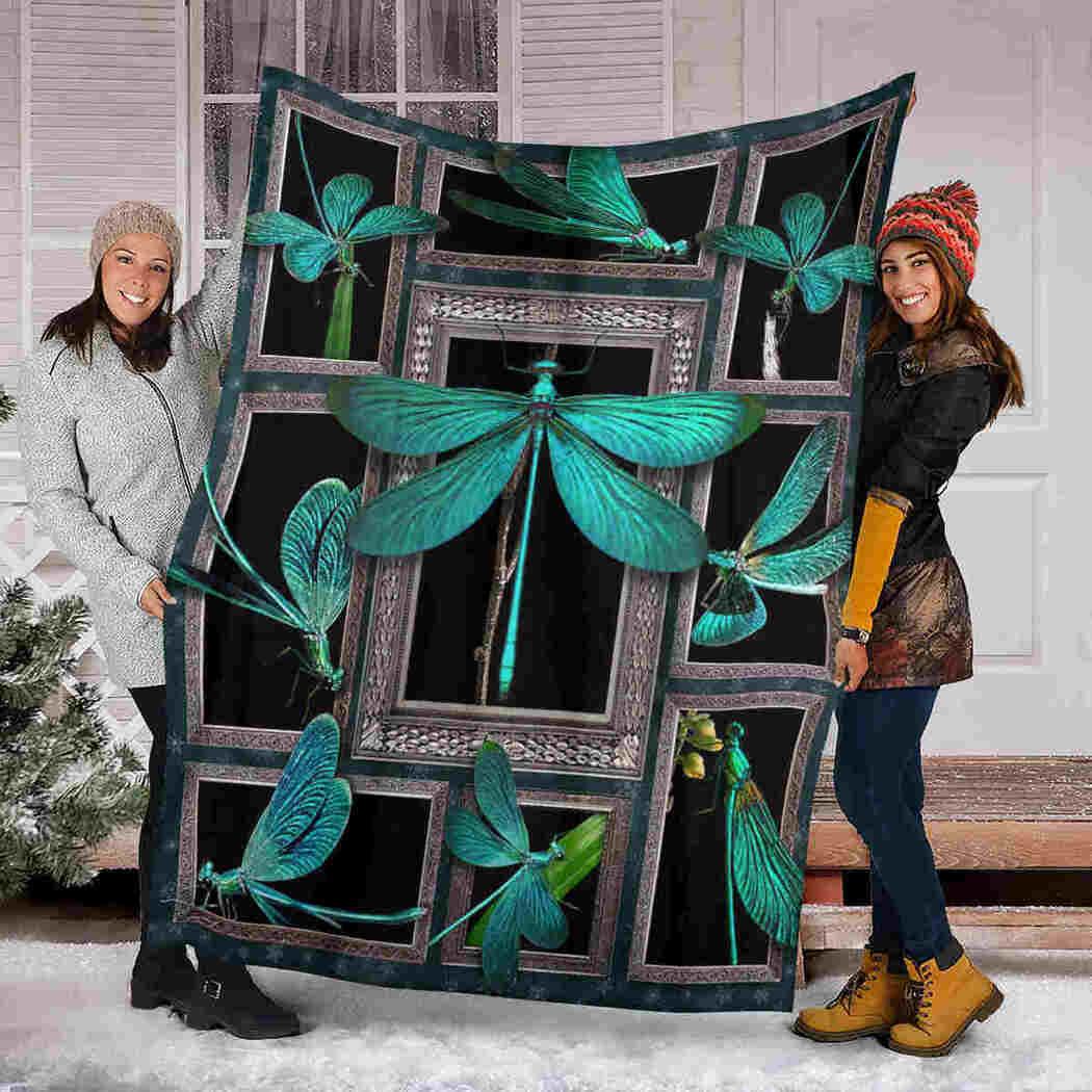 Dragonfly 3D Blanket - Animals Lover Blanket