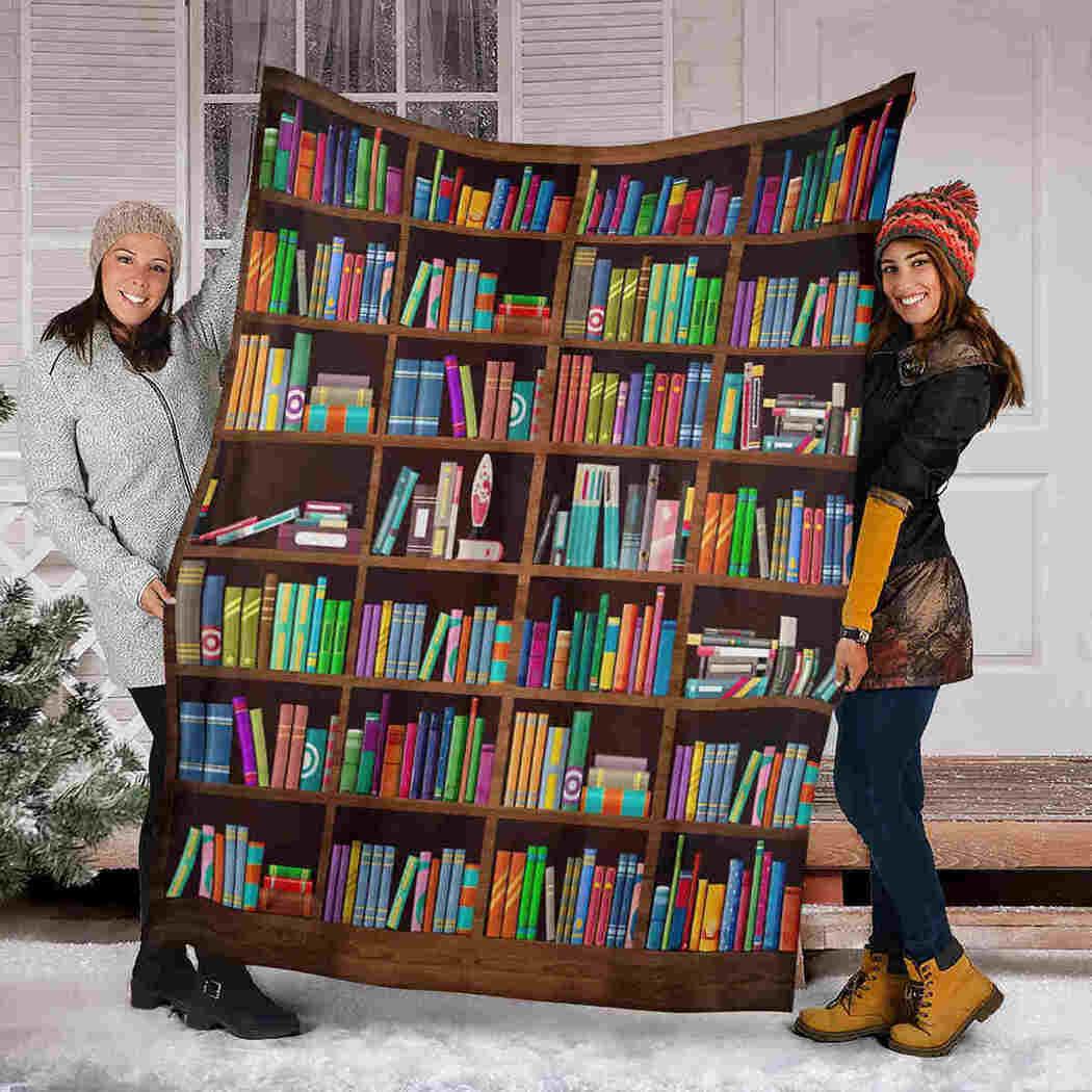 Color Book Blanket - Reading I Love Blanket