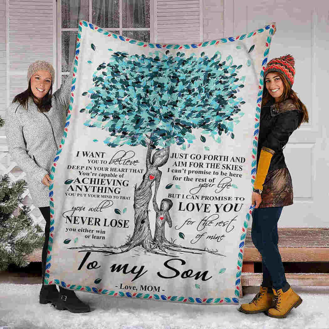 Blue Tree - To My Son - You Will Never Lose Blanket