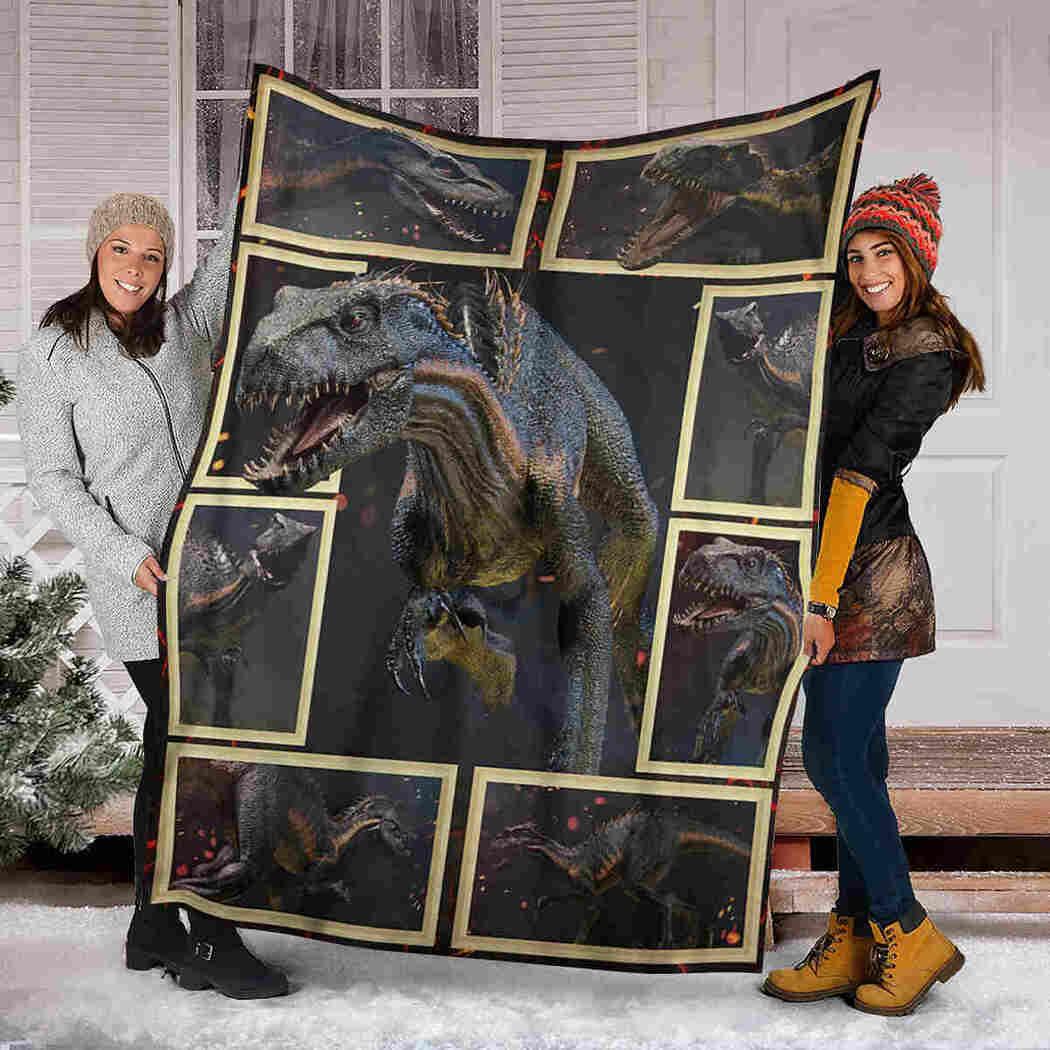 Dinosaur Blanket - Gift For Animals Lover Blanket