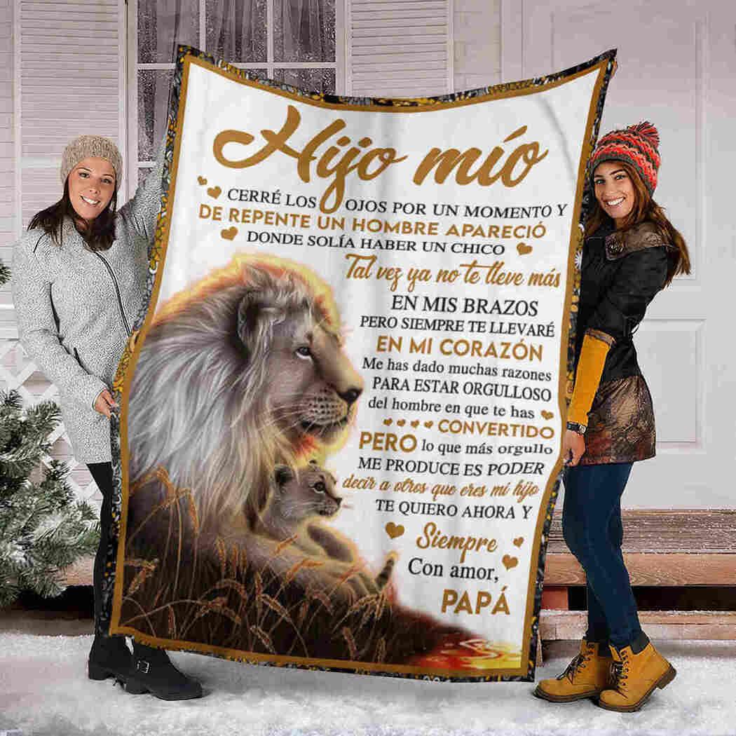 Hijo Mio Blanket - Lion - My Son Blanket