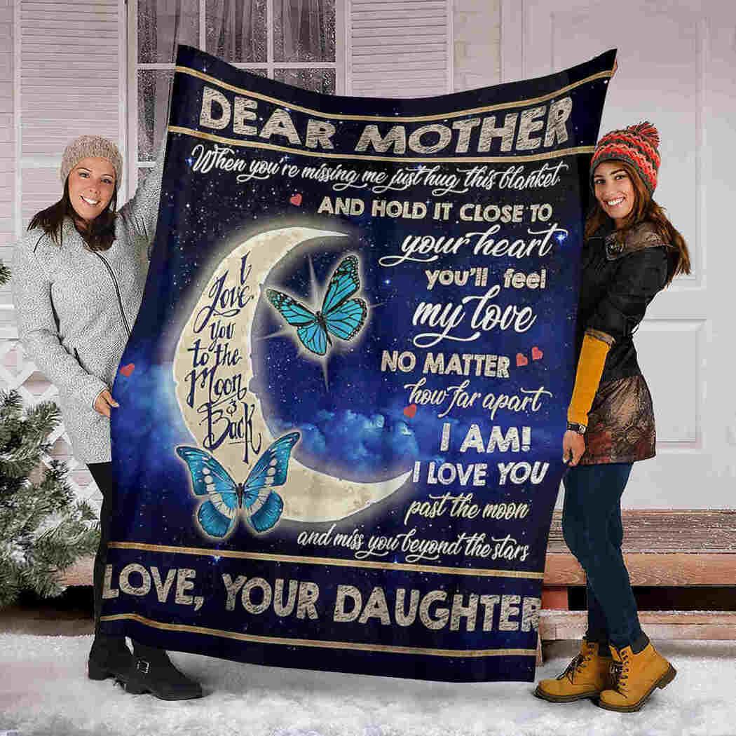 Dear Mother - Moon Butterfly - You Will Feel My Love Blanket