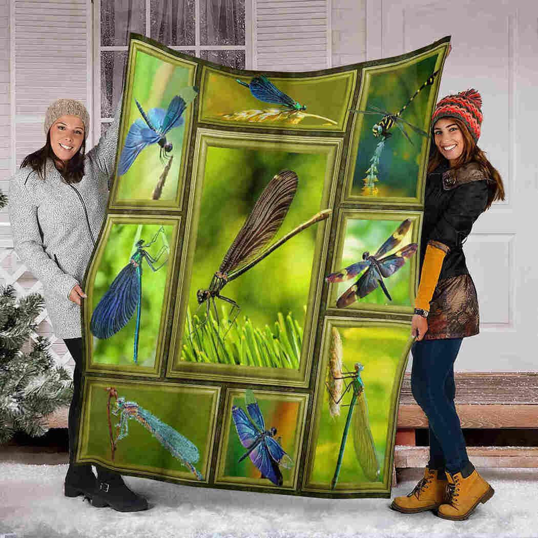 Dragonfly 3D Blanket - Beauty Animals Blanket