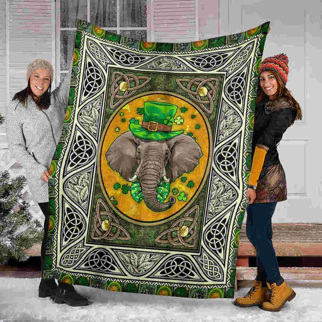 Elephant Blanket - Irish Blanket