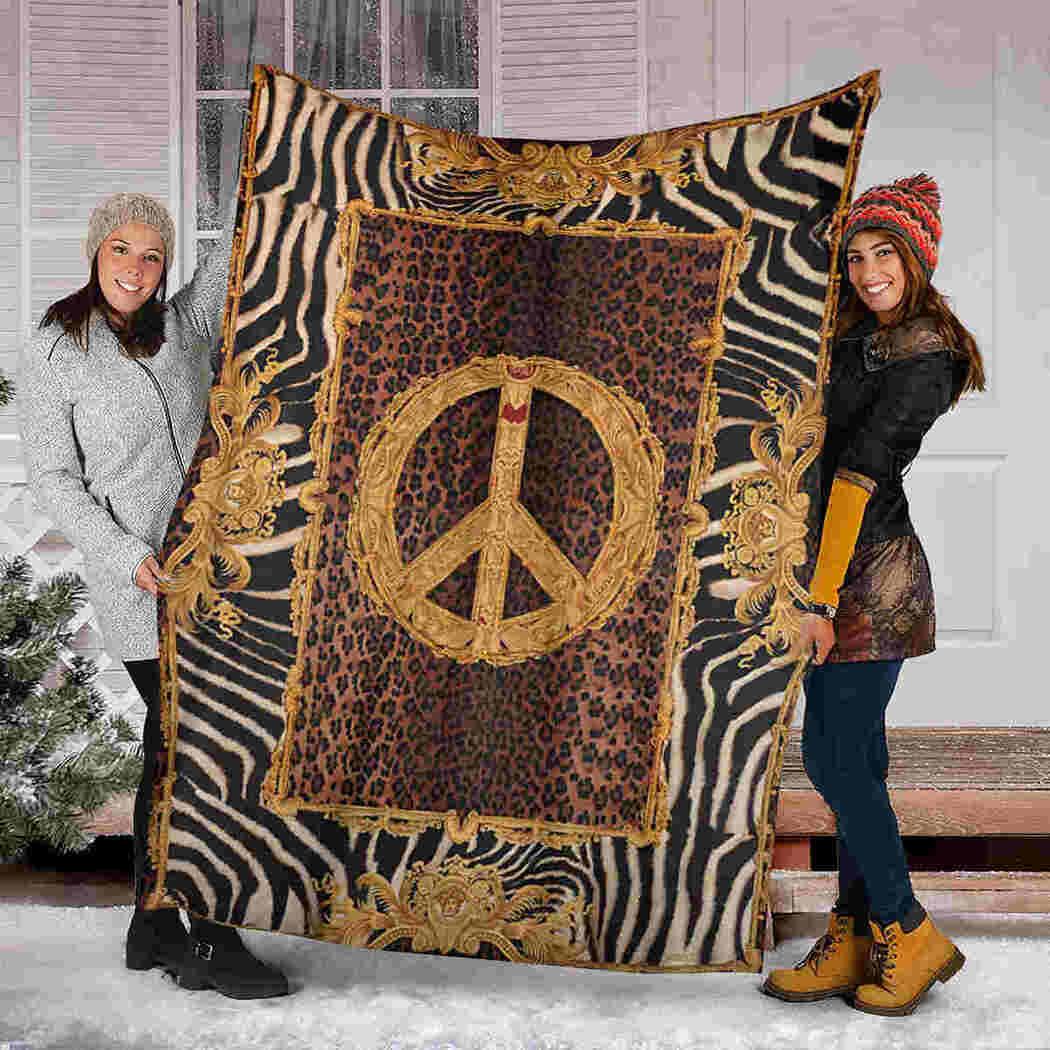 Hippie Vintage Blanket - Beauty Peace Blanket