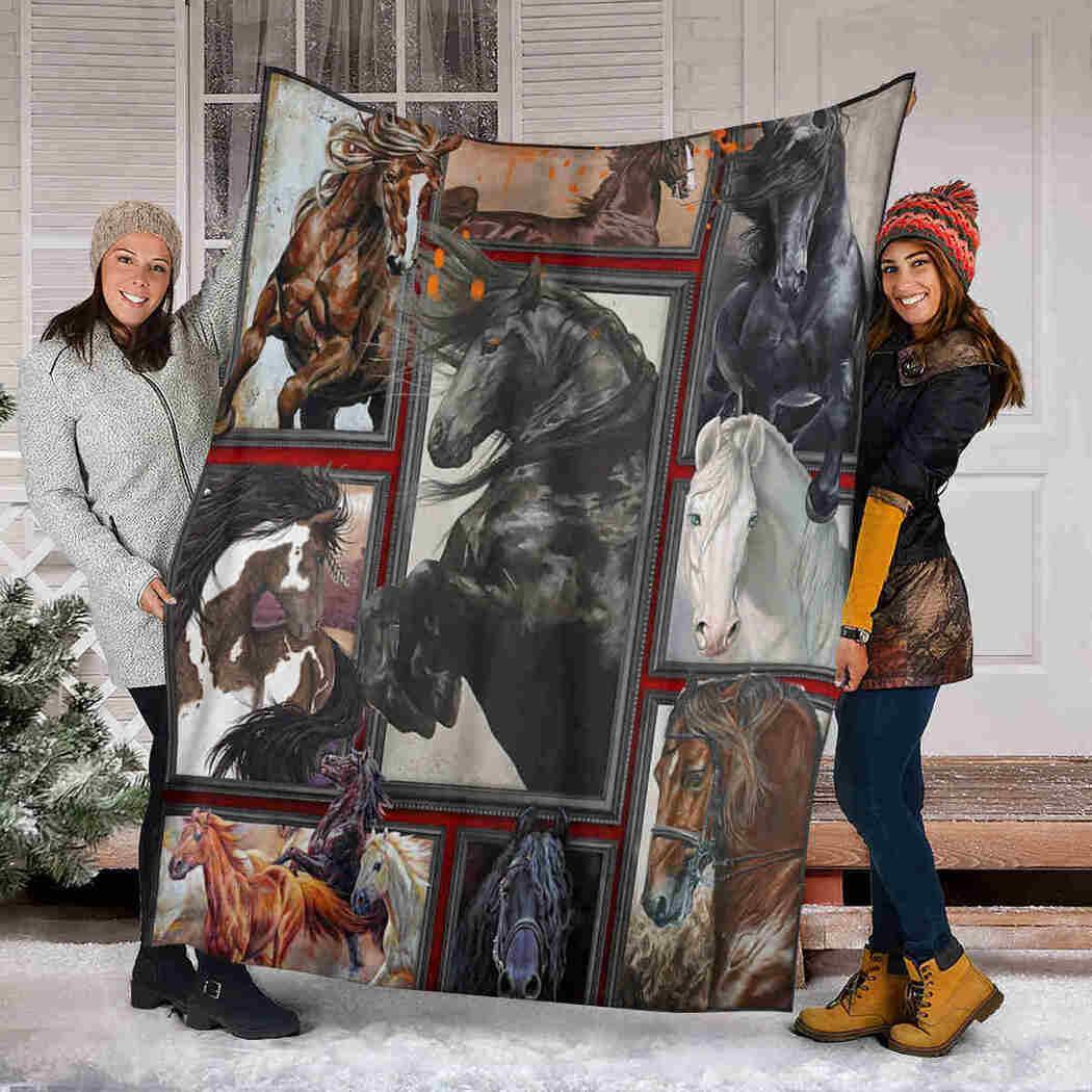 Horse 3D Blanket - Lover Animal Blanket