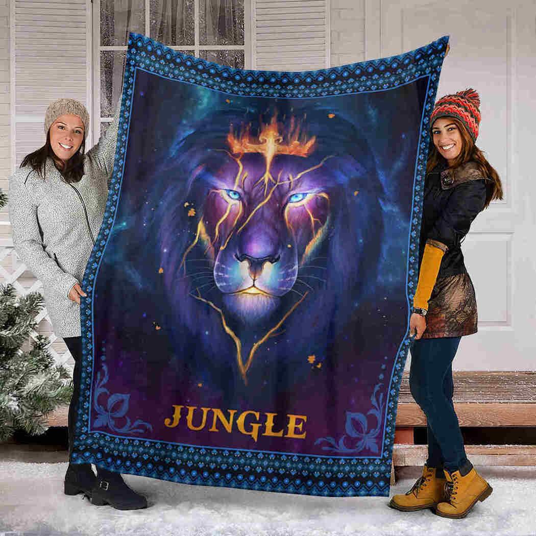 Jungle Blanket - Lion Thunder Blanket