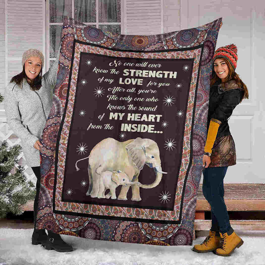 Elephant Blanket - No One Will Ever Know The Strength Of My Love Blanket